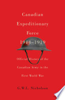 Canadian Expeditionary Force  1914 1919