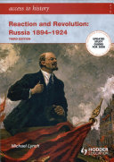 Access to History  Reaction and Revolution  Russia 1894 1924 Third edition