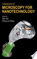 Handbook of Microscopy for Nanotechnology Book