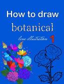 How to Draw Botanical Line Illustration 1