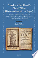Abraham Ibn Daud s Dorot  Olam  Generations of the Ages