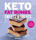 Keto Fat Bombs, Sweets & Treats Pdf