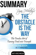 Ryan Holiday s the Obstacle Is the Way