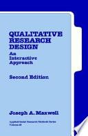 Qualitative Research Design Book