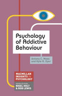 Cover of Psychology of Addictive Behaviour