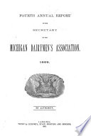 Annual Report Of The Secretary Of The Michigan Dairymen S Association