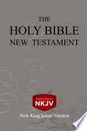 The Holy Bible  New Testament