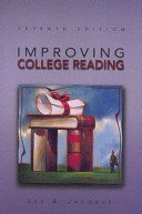 Pdf Improving College Reading