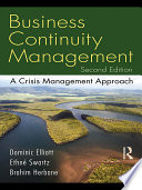 Business Continuity Management 2e Book PDF