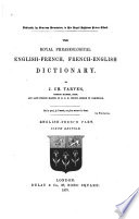 The Royal Phraseological English-French, French-English Dictionary Pdf/ePub eBook