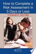 How to Complete a Risk Assessment in 5 Days or Less Book