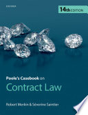 Poole's Casebook on Contract Law