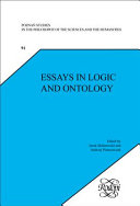 Essays in Logic and Ontology