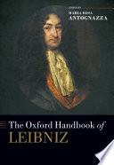 The Oxford Handbook of Leibniz