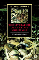 The Cambridge Companion to the Literature of the First World War ebook