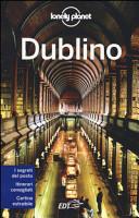 Copertina Libro Dublino. Con cartina