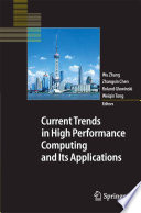 Current Trends in High Performance Computing and Its Applications Book