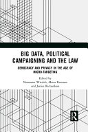 Big Data  Political Campaigning and the Law Book