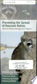 Preventing The Spread Of Raccoon Rabies Book PDF