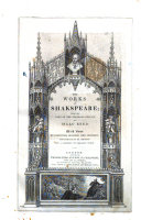 The Works of Shakspeare  from the Text of the Standard Edition by Isaac Reed
