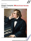 Chopin Complete Nocturnes   Piano Sheet Music