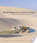 Books a la Carte for World Regions in Global Context