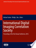 International Digital Imaging Correlation Society