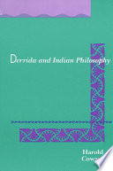 Derrida and Indian Philosophy