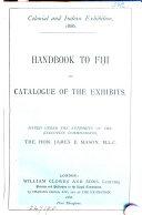 Handbook to Fiji and Catalogue of the Exhibits