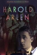 Harold Arlen Book PDF