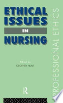 Ethical Issues in Nursing Book