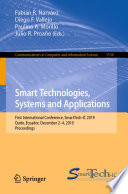 Smart Technologies  Systems and Applications Book