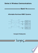 Affordable Nonlinear MIMO Systems