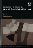 Research Handbook on Global Administrative Law Book