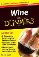 Wine For Dummies Book PDF