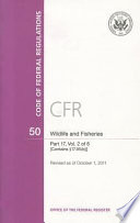 Code of Federal Regulations  Title 50  Wildlife and Fisheries  PT  17  SEC  17 1 17 95 a    Revised as of October 1  2011