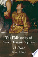 The Philosophy of Saint Thomas Aquinas