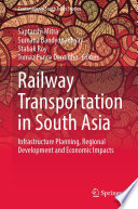 Railway Transportation in South Asia Book