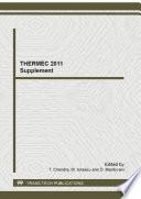 THERMEC 2011 Supplement