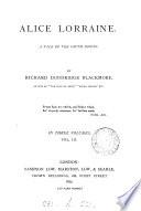 Alice Lorraine Book
