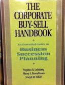 The Corporate Buy sell Handbook