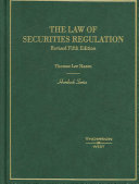 The Law of Securities Regulation Book