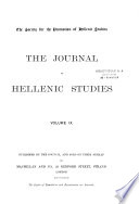 The Journal of Hellenic Studies Book