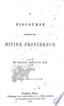 A Discourse Concerning the Divine Providence Book
