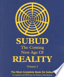 Subud the Coming New Age of Reality Book