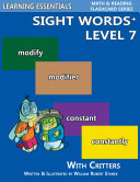 Sight Words Plus Level 7: Sight Words Flash Cards with Critters for Grade 3 & Up Pdf/ePub eBook