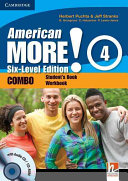 American More  Six Level Edition Level 4 Combo with Audio CD CD ROM