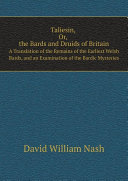 Taliesin  Or  The Bards and Druids of Britain