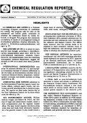 Pdf Chemical Regulation Reporter