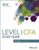 Wiley Study Guide for 2016 Level I CFA Exam: Economics